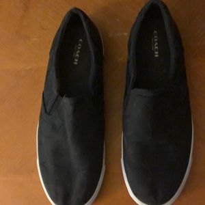 Coach New York Black Shoes